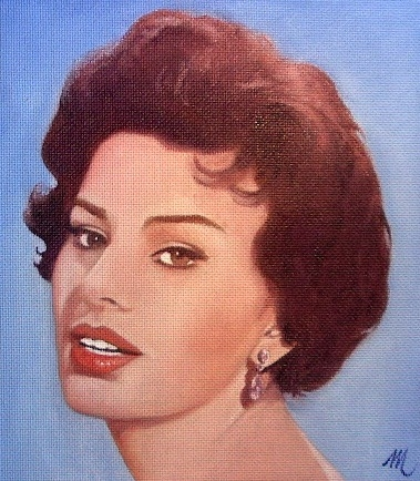 Sophia Loren by mario